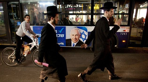 Sidelined: Ultra-Orthodox Jewish parties suffered serious setbacks in the Israeli election and may be sidelined from new government.