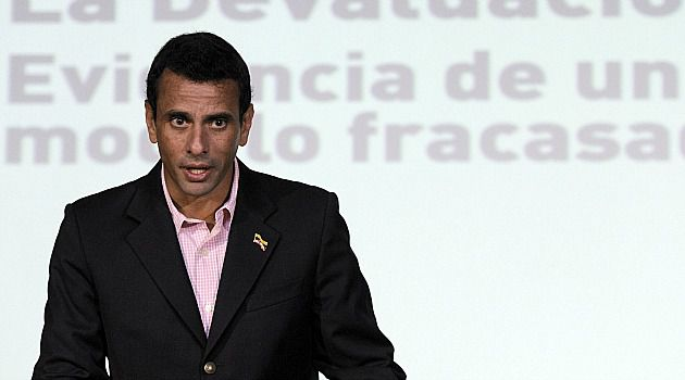Rest in Peace: Henrique Capriles, a Venezuelan opposition leader who has Jewish roots, offered condolences over the death of strongman Hugo Chavez.