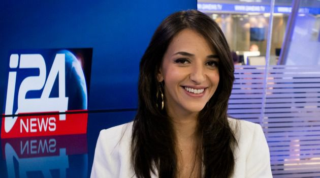 Fresh Look: Lucy Aharish, Israel?s first Arab prime-time news anchor on a Hebrew channel, has jumped to i24.