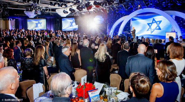 A Night To Remember: The IAC's gala at the Beverly Hills Hilton raised over $23 million.
