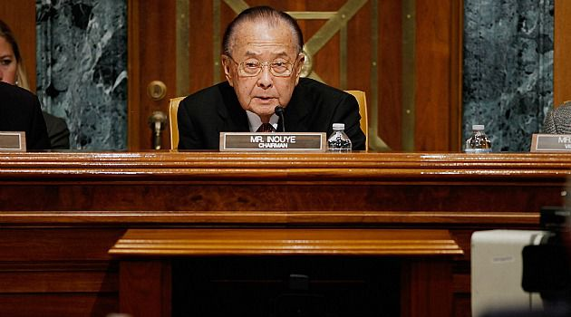 Friend of Israel: Sen. Daniel Inouye of Hawaii has died at 88.