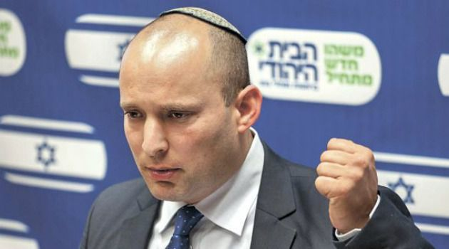 Foreign Criticism: American Jewish leaders fight back against Israeli officials like right-winger Naftali Bennett who says Israel should forget about the two-state solution.