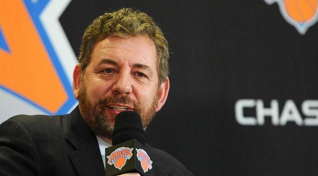 New York Knicks owner James Dolan