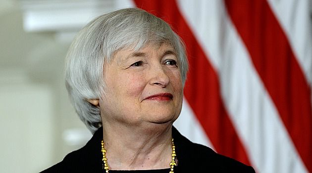 Banker-in-Chief: Janet Yellen is introduced by President Barack Obama as his pick to be the next Federal Reserve chief.
