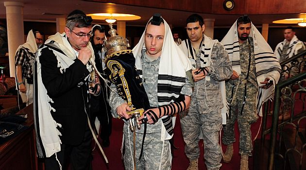 Our Own: Jewish military families need to feel like they have the community?s support.