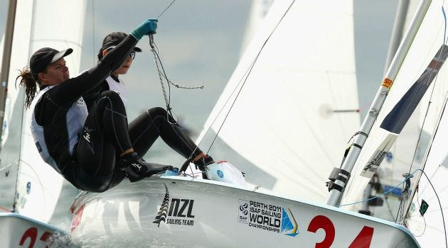 Jewish Pride: New Zealand sailor Jo Aleh dedicated ?part? of her gold medal to Israel.