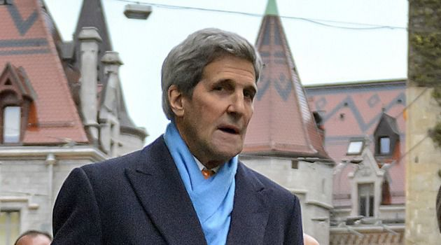 John Kerry takes a break during nuclear talks with Iran.