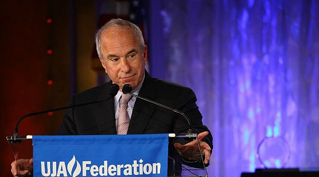 Long Tenure: John Ruskay will leave the helm of UJA-Federation of New York next year after 15 years.