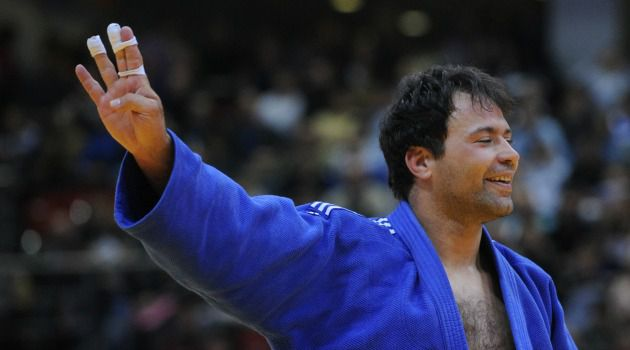 Judo Guys: Arik Ze?evi is the old man of the Israeli Olympic team at 35 and Alice Schlesinger is one of the newcomers. Both have good chances to win medals in London.