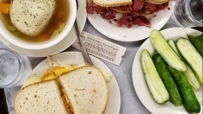 Katz's Delicatessen is offering an all-you-can-eat Thanksgiving meal — just don't expect stuffing and sweet potatoes.