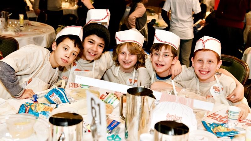 Some of last year's bakers.