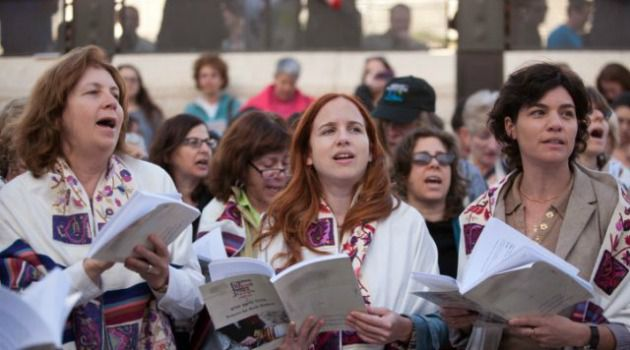 Supporting the Fight: Female lawmakers joined the Women of the Wall protests at the Western Wall in Jerusalem.
