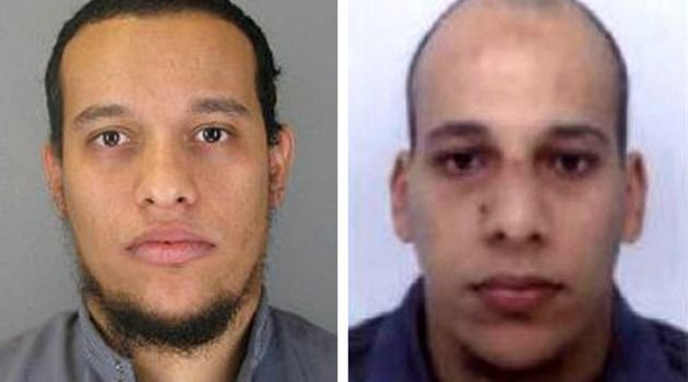 Brothers K: Said Kouachi, aged 34, and Cherif Kouachi, aged 32, carried out the attack against the satirical weekly Charlie Hebdo.