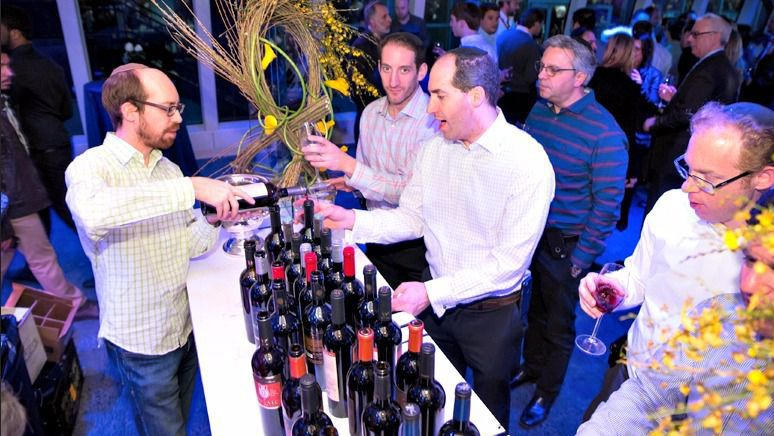 A scene from the 2016 Kosher Wine & Food Experience.