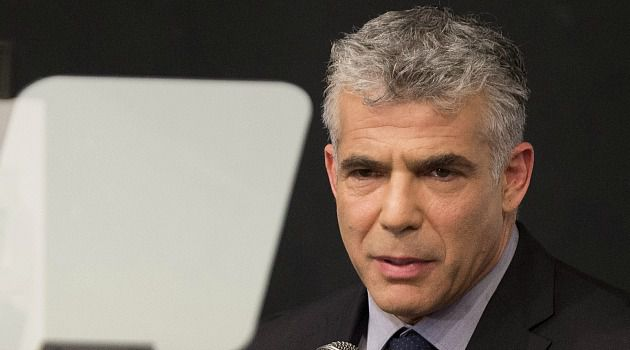 Israeli Challenger: TV personality-turned-politician Yair Lapid launched his campaign against Prime Minister Benjamin Netanyahu with a call to restart peace talks.
