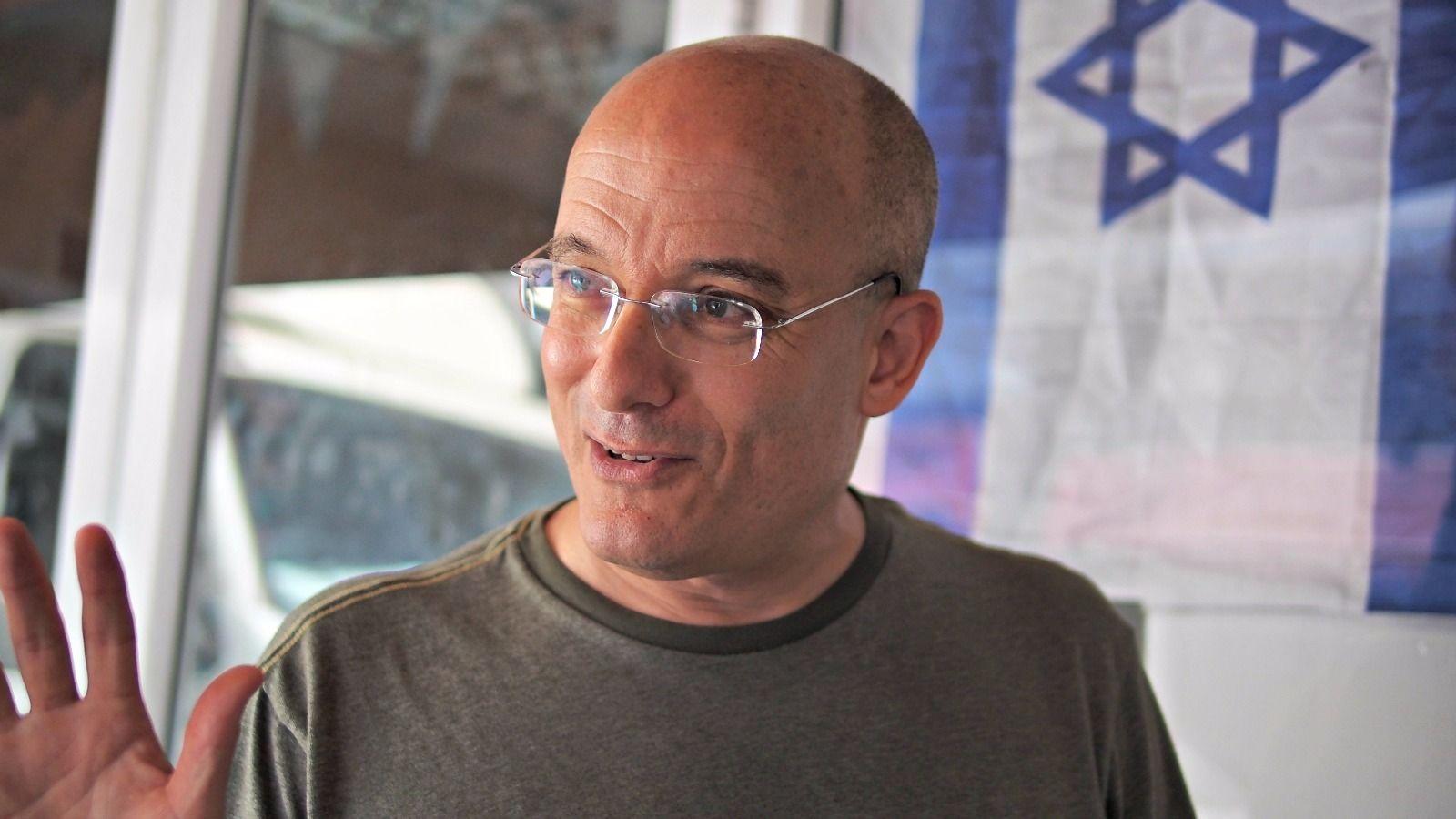 Israeli food star Gil Hovav gave our group a tour of Levinsky Market.