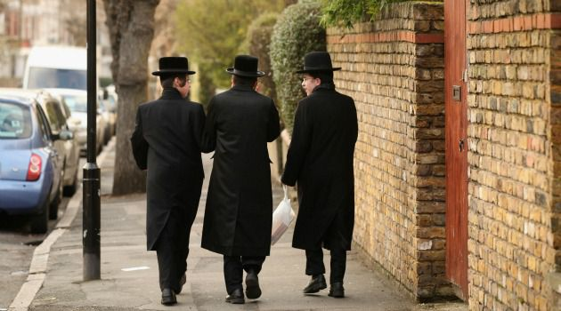 Concentrated: Jews make up nearly half the population of some London neighborhoods, but are almost absent in much of Britain, a new study found.