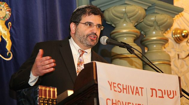Roughed Up: Asher Lopatin has been given a hard time for espousing ?open Orthodoxy.?