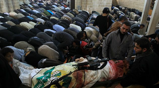 Marked Man: Slain Hamas military chief Ahmad Al-Jabaari may have been lulled into a false sense of security.
