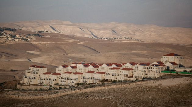 The Israeli settlement of Maale Adumimin in the West Bank.