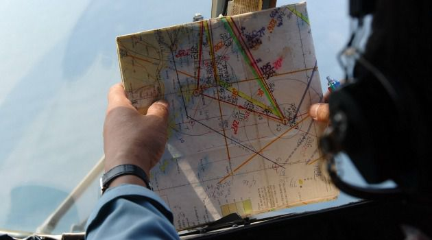 Without a Trace: A Vietnamese helicopter crew searches for the missing Malaysia Airlines Flight 370.