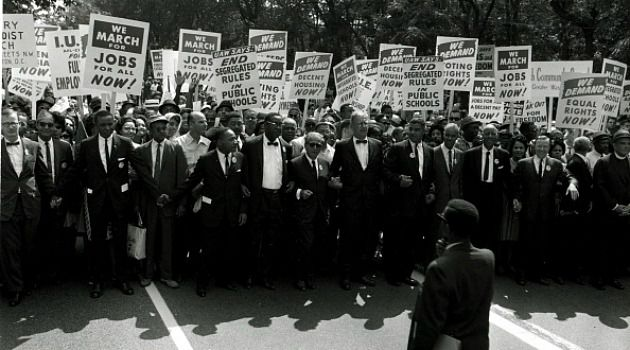 Unfinished Business : The March on Washington was supposed to be about justice and economic equality for black Americans. The second part of that mission is still far from accomplished.