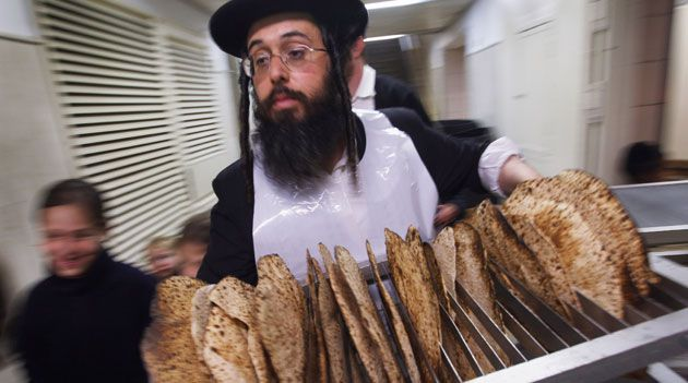 Bread of Affliction: No more than 18 minutes can pass from the time water and flour are mixed to the matzos get baked.