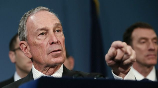 ?Go to North Korea?** Mayor Bloomberg sharply criticized lawmakers who called for a cut-off of funds to Brooklyn College in a dispute over a Boycott Israel event at the campus.