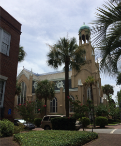Landmark: Mickve Israel, a Reform synagogue, is the second largest congregation in Savannah.