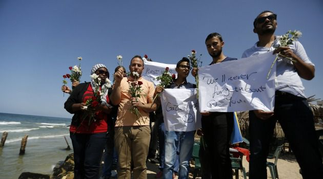 Deadly Path: Gaza Palestinians mourn death of migrant who died seeking to reach Europe.