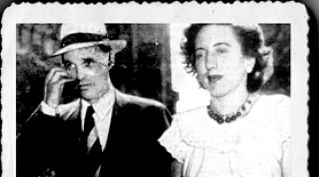 Miriam Moskowitz being led by an FBI agent.