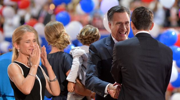 Big Night: Mitt Romney slammed President Barack Obama?s policies on Israel and Iran as he accepted the Republican nomination for president.