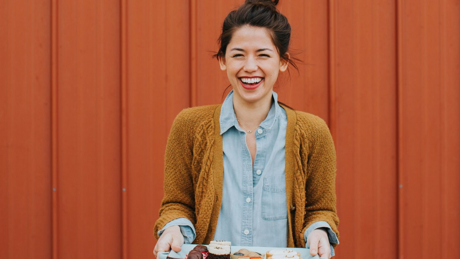 Popular blogger Molly Yeh came out with her first cookbook, 'Molly on the Range.'