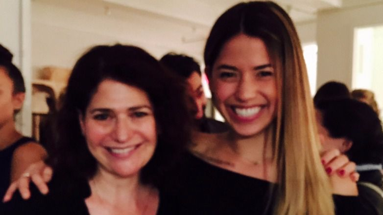 "Food editor Liza Schoenfein (the short one, at almost 5'7"") and Molly Yeh."
