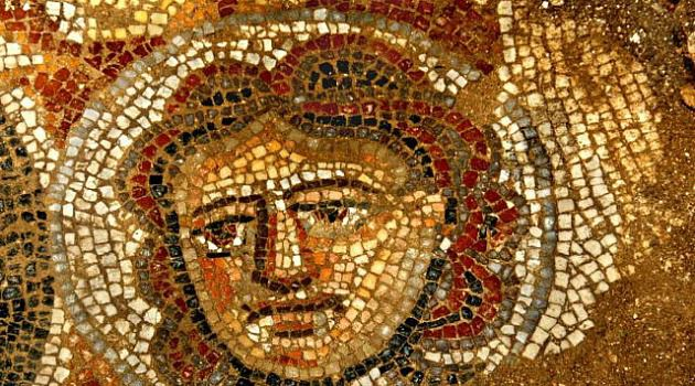 Elaborate Mosaic: Archeologists have uncovered a ?jewel? of an ancient synagogue in Israel?s Galilee region.