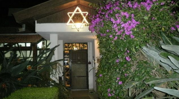 Paradise Lost: A home in the idyllic Moshav Yashresh, site of the grisly murder of two American-Israeli children.