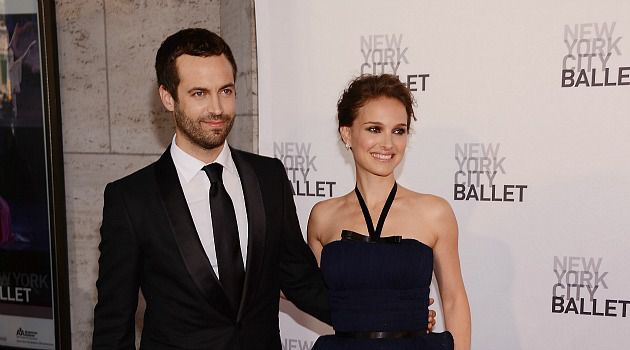 Lovely Couple: After a two-year engagement, Natalie Portman and choreographer Benjamin Millepied tied the knot in California.