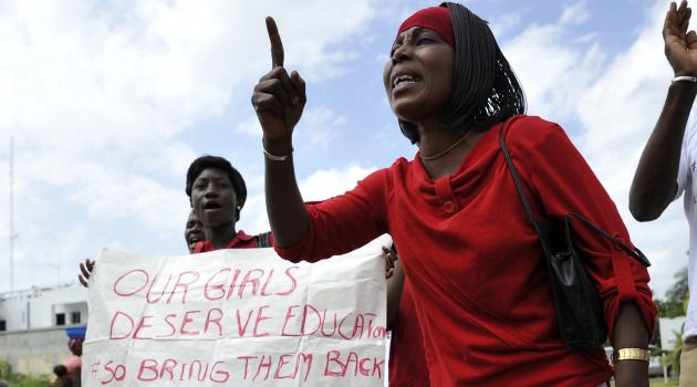 Bring 'Em Back: Nigerian parents demand action to rescue the schoolgirls kidnapped by Islamist rebels.