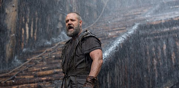 This Is the darkness, This Is the Flood: Russell Crowe plays Noah in Darren Aronofsky?s biblical epic.