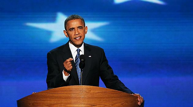 I?m the One: President Obama asked Americans to support his fight for four more years in the White House.