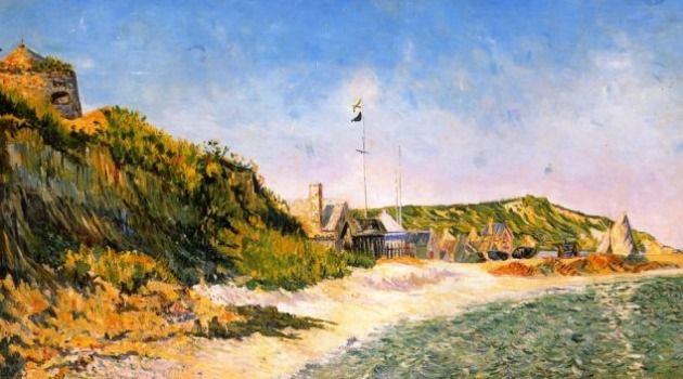 ?Port-en-Bessin? by neo-Impressionist Paul Signac