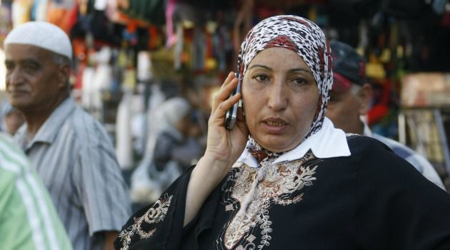 Cell phones are ubiquitous in the West Bank. But Israeli rules prevent providers from offering even 3G service, angering tech-savvy Palestinians.