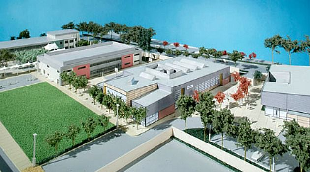 Sports Palace: The Gideon Hausner Jewish Day School in Palo Alto, Calif., is building an arts and athletics center, as well as a playing field, expected to total $13 million.