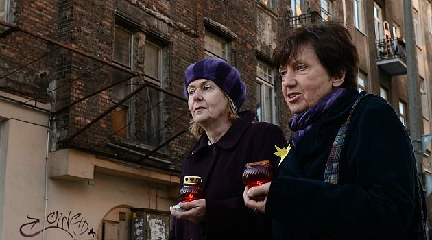 Two Faces: Poles turned out to commemorate the Warsaw Ghetto uprising. But a new poll shows stubbornly high levels of anti-Semitism.