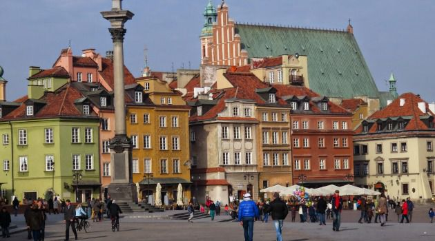 Past and Present: About one third of Warsaw's pre-war population was Jewish; now there are only a few thousand Jews in the capital city.