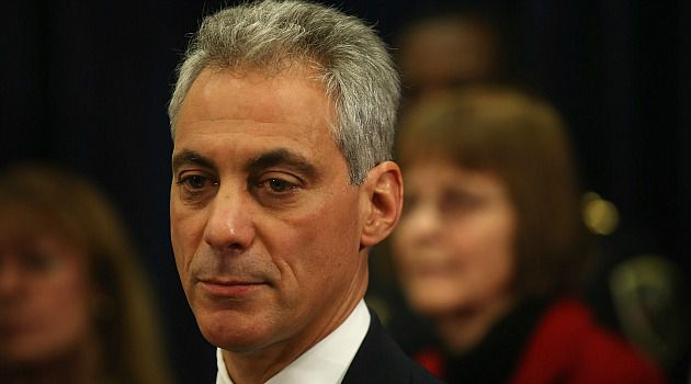 Chicago Mayor Rahm Emanuel is pushing for new gun control laws after the Newtown school rampage.