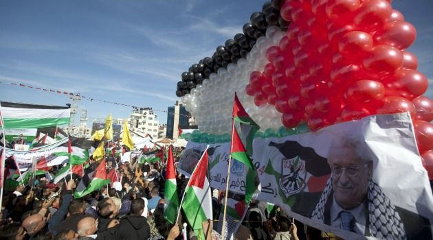 Returning in Triumph: Palestinians welcome President Mahmoud Abbas back to Ramallah after his successful bid for statehood at the U.N.
