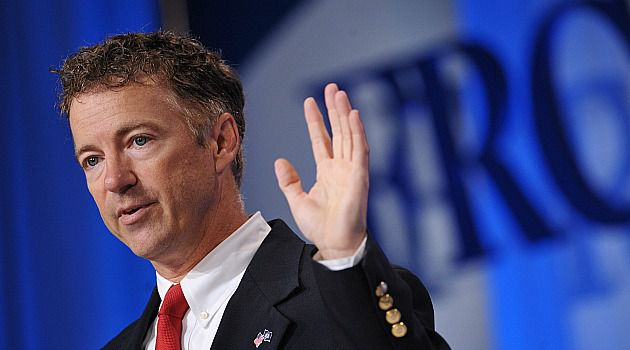 Tea Party Leader: Sen. Rand Paul is one of the leading skeptics of foreign aid and the giant package for Israel. He heads to the Jewish State with a delegation soon.