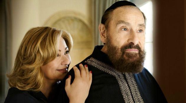 Rabbi Philip Berg with his wife, Karen.