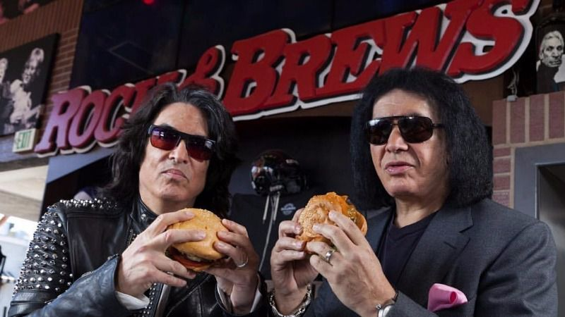 The former bandmates are rocking the burger and beer business.